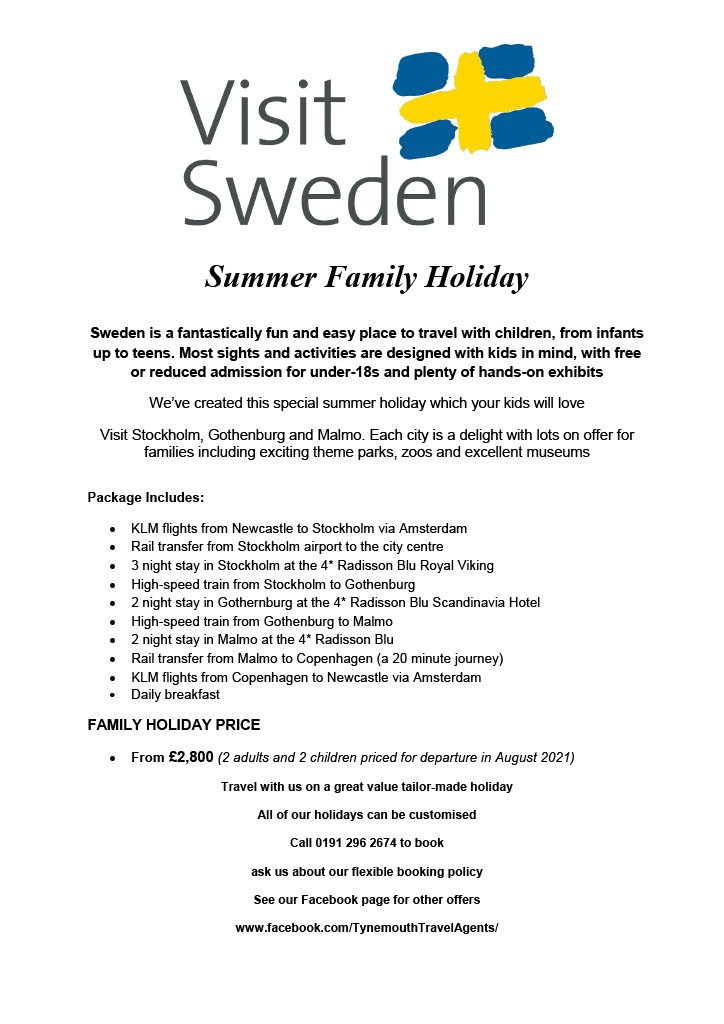Summer Family Holiday in Sweden